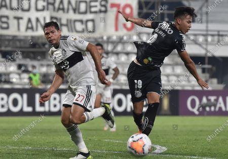 Editorial photo of Olimpia vs Santos, Asuncion, Paraguay - 01 Oct 2020