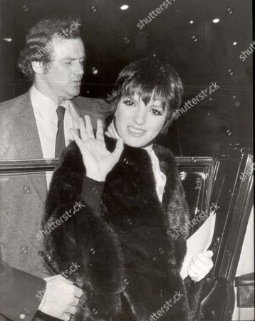 Singer Liza Minnelli Leaving The Katy Manning Christening In 1978.
