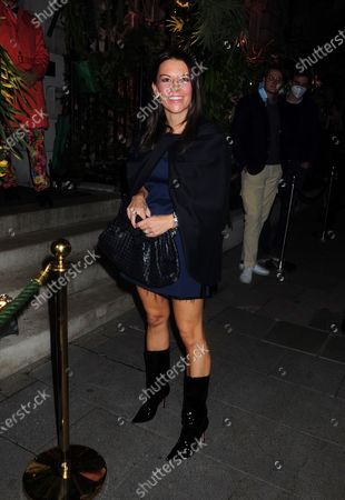 Editorial photo of Juliet Angus out and about, London, UK - 01 Oct 2020