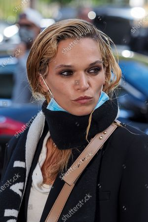 Editorial photo of Chloe show, Arrivals, Spring Summer 2021, Paris Fashion Week, France - 01 Oct 2020