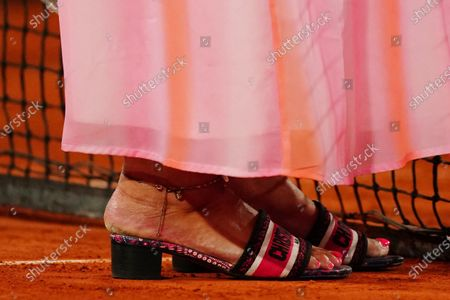Marion Bartoli, shoe detail after the Women's Singles third round match