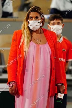 Marion Bartoli after the Women's Singles third round match