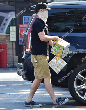 Editorial image of Colin Hanks out and about, West Hollywood, Los Angeles, California, USA - 30 Sep 2020