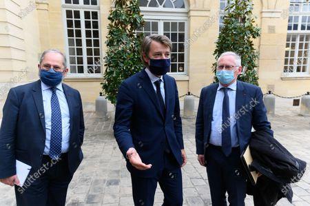 Philippe Laurent, Francois Baroin and Jean-Paul Jeandon.