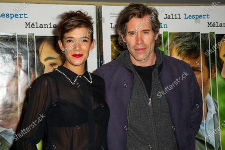Stock Image of Melanie Doutey and Jalil Lespert
