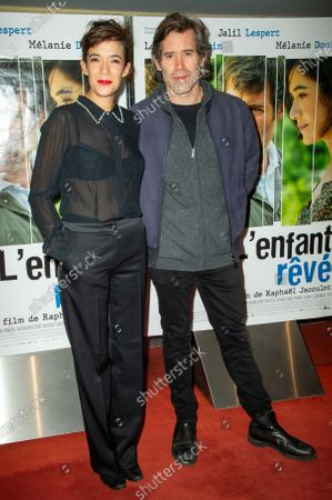 Melanie Doutey and Jalil Lespert