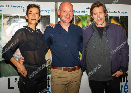 Melanie Doutey, Raphael Jacoulot and Jalil Lespert