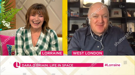 Stock Picture of Lorraine Kelly, Dara O Briain