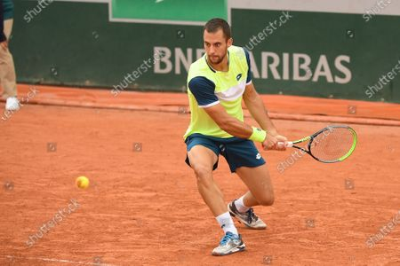 Editorial image of French Open Tennis, Day Three, Roland Garros, Paris, France - 29 Sep 2020