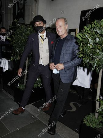 Editorial image of Kelsey Grammar out and about, London, UK - 24 Sep 2020