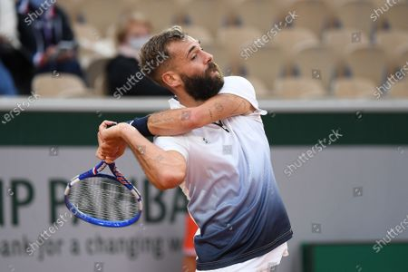 Editorial image of French Open Tennis, Day Four, Roland Garros, Paris, France - 30 Sep 2020