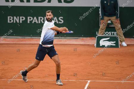 Benoit Paire at Roland Garros stadium