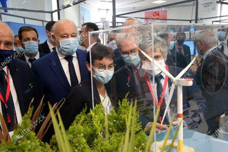 Editorial image of Annick Girardin inaugurates the coastal fair, La Grande-Motte, France - 29 Sep 2020
