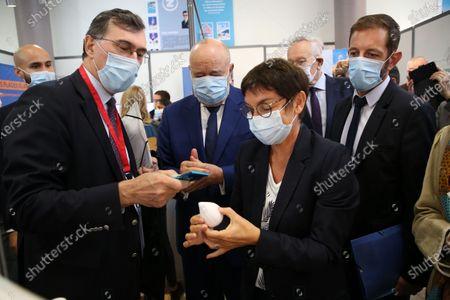Annick Girardin, Jean-Michel Baylet, Stephan Rossignol.