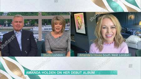 Stock Picture of Eamonn Holmes, Ruth Langsford, Amanda Holden