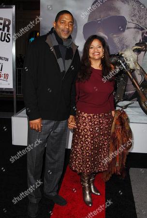 Debbie Allen & husband Norman Nixon