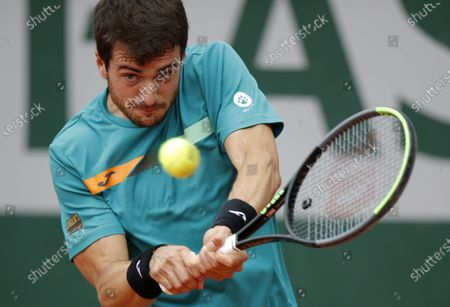 Editorial image of French Open tennis tournament at Roland Garros, Paris, France - 02 Oct 2020