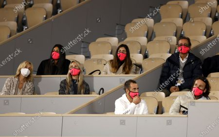 Editorial picture of French Open tennis tournament at Roland Garros, Paris, France - 02 Oct 2020