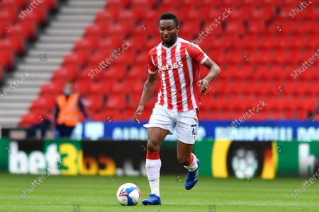 John Obi Mikel (13) of Stoke City with the ball