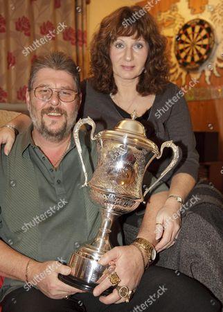 Martin Wolfie Adams and wife Sharon