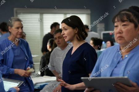 Stock Picture of Caterina Scorsone as Dr. Amelia Shepherd