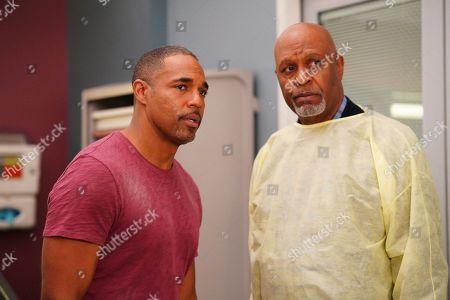 Jason Winston George as Dr. Ben Warren and James Pickens Jr. as Dr. Richard Webber