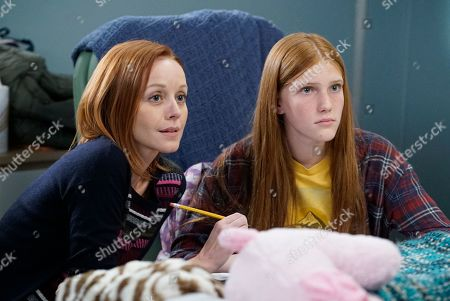 Stock Picture of Lindy Booth as Hadley and Ava DeVoe as Matty