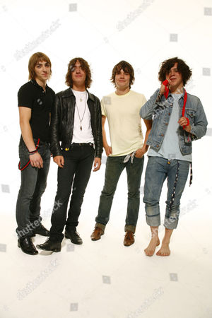 The View - Steven Morrison, Pete Reilly, Kieren Webster and Kyle Falconer