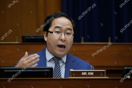 Rep. Andy Kim, D-N.J., speaks as Secretary of Health and Human Services Alex Azar testifies to the House Select Subcommittee on the Coronavirus Crisis, on Capitol Hill in Washington, DC, USA, 02 October 2020.