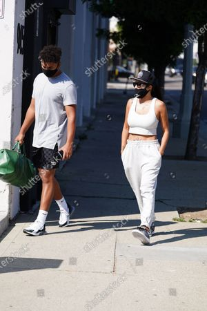 Editorial image of Celebrities out and about, Los Angeles, USA - 01 Oct 2020