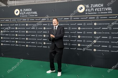 Til Schweiger poses on the Green Carpet during the 16th Zurich Film Festival (ZFF) in Zurich, Switzerland, 02 October 2020. The festival runs from 24 September to 04 October 2020.