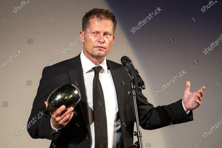 Til Schweiger receives the Golden Eye Award during the 16th Zurich Film Festival (ZFF) in Zurich, Switzerland, 02 October 2020. The festival runs from 24 September to 04 October 2020.
