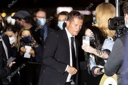 Til Schweiger (L) poses on the Green Carpet during the 16th Zurich Film Festival (ZFF) in Zurich, Switzerland, 02 October 2020. The festival runs from 24 September to 04 October 2020.