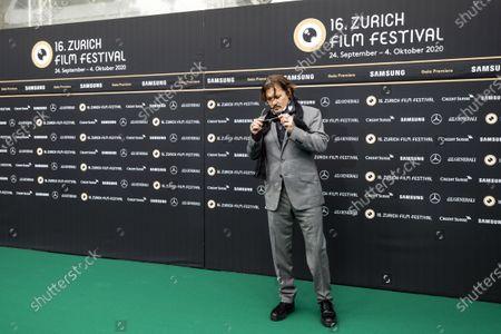 Editorial photo of Green Carpet - Zurich Film Festival 2020, Zuerich, Switzerland - 02 Oct 2020