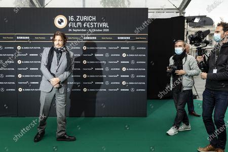 Editorial image of Green Carpet - Zurich Film Festival 2020, Zuerich, Switzerland - 02 Oct 2020