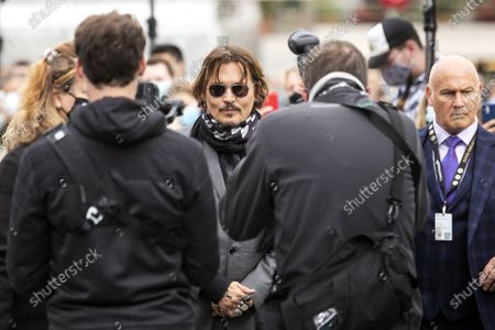 Stock Picture of Johnny Depp poses on the Green Carpet during the 16th Zurich Film Festival (ZFF) in Zurich, Switzerland, Friday, October 02, 2020. The festival runs from 24 September to 04 October 2020.