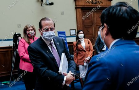 Editorial image of United States House Subcommittee on the Coronavirus Crisis: Hybrid Hearing with US Secretary of Health and Human Services (HHS) Alex Azar, Washington, District of Columbia, USA - 02 Oct 2020