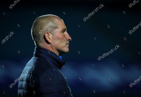 Stock Photo of Leinster vs Dragons. Leinster Assistant Coach Stuart Lancaster