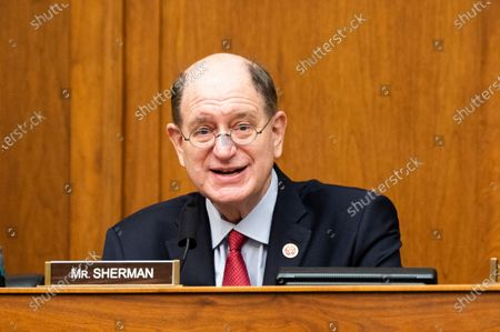 "U.S. Representative Brad Sherman (D-CA) speaks at a joint committee hearing by the House Foreign Affairs Committee's Subcommittee on Asia, the Pacific and Nonproliferation and the House Armed Services Committee's Subcommittee on Intelligence and Emerging Threats and Capabilities on ""Strengthening Biological Security: Traditional Threats and Emerging Challenges""."