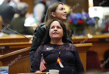 Editorial picture of Election 2020 Colorado Paid Leave, Denver, United States - 04 Jan 2019