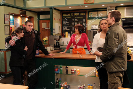 Daz Eden [Luke Tittensor] Has to Deal with a Drunk Victoria Sugden [Isobel Hodgins] and Aaron Livesy [Danny Miller].