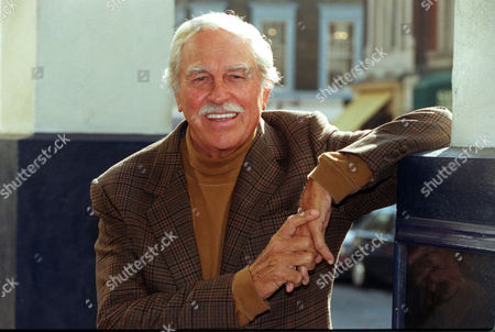 Editorial image of 79 Year Old American Actor Singer Howard Keel. On The Steps Of The Theatre Royal.