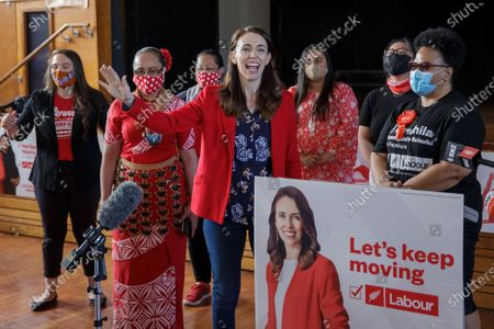 Editorial photo of First day of advance voting ahead of general election in New Zealand, Auckland - 03 Oct 2020