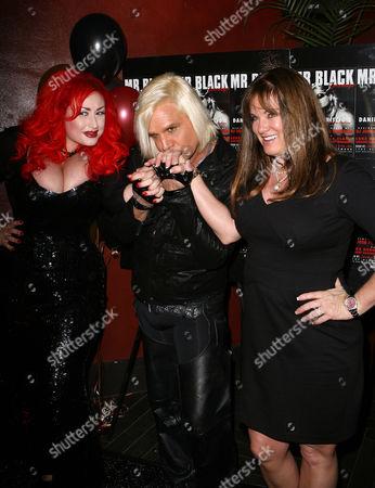 Stock Picture of Lenora Claire, Daniel DiCriscio and guest