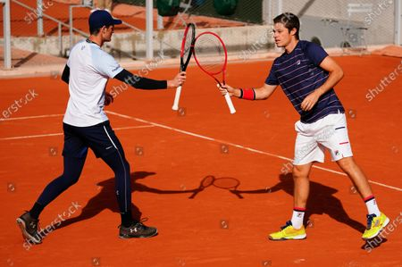 Jamie Murray and Neil Skupski in last 16 doubles action