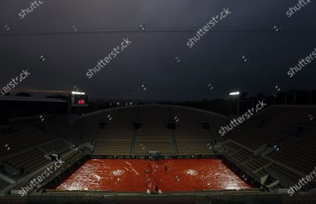 Editorial picture of French Open tennis tournament at Roland Garros, Paris, France - 03 Oct 2020