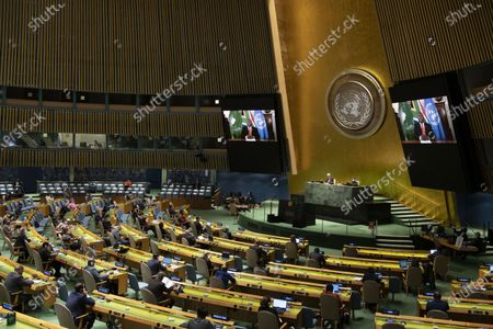 Editorial picture of Un High Level Meeting International Day for the Total Elimination of Nuclear Weapons - 02 Oct 2020