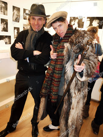 Stock Photo of Guest and Gaz Mayall