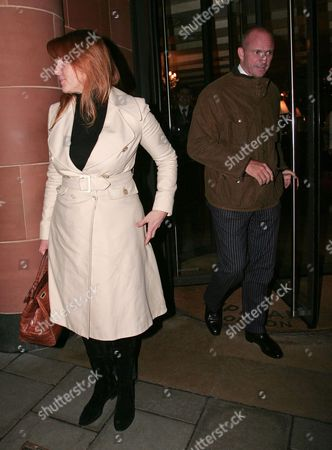 Sarah Ferguson, Duchess of York and restaurateur Giuseppe Cipriani