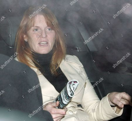 Sarah Ferguson, Duchess of York holding a copy of the Big Issue